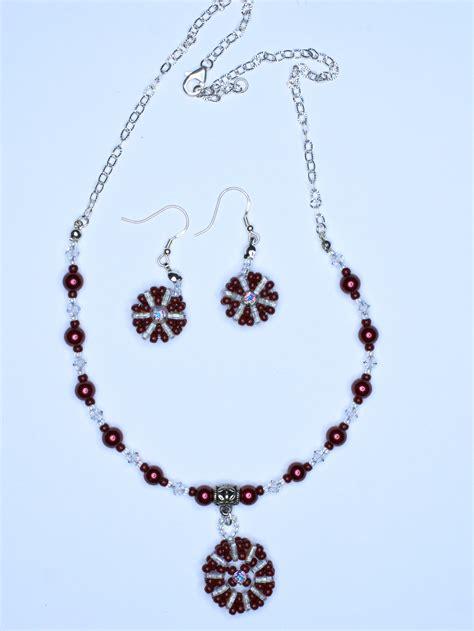 Mote Uk 6mm 0 5cm white pendant necklace set dirah exclusives