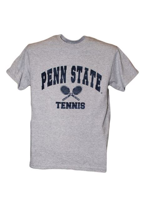 T Shirt Tennis penn state t shirt gray tennis t shirt