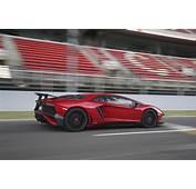 Wallpaper Lamborghini Aventador Lp 750 4 Side View Red