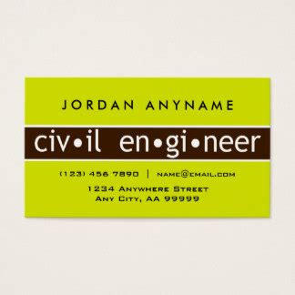 civil engineer business card template civil engineering business cards templates zazzle