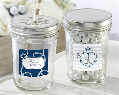 8 oz glass jar nautical wedding kate aspen