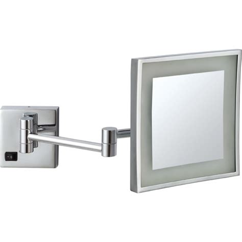 light gauge metal framing wall section magnifying bathroom mirrors mirror with arm extenders