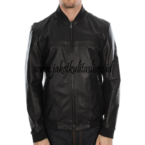 Jual Jaket Kulit Pria Terbaru jaket kulit asli pria a438 jual jaket kulit asli
