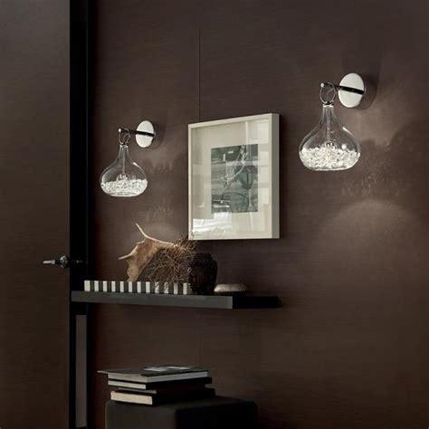 applique con cristalli applique moderne per soggiorni corridoi e camere da letto