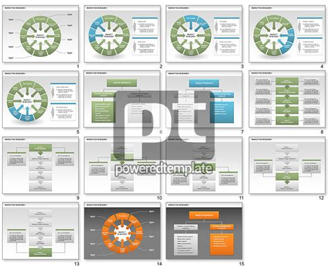 market research powerpoint template marketing research process diagrams for powerpoint