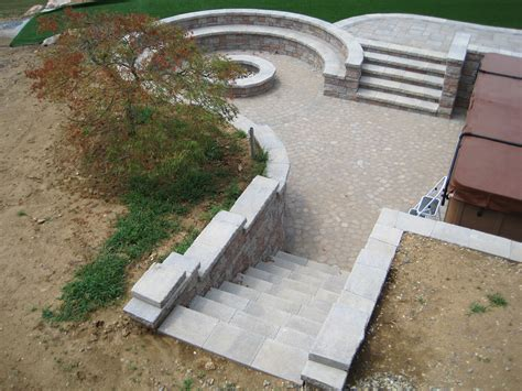 Retaining Wall Stairs Design Steps Stairs Burkholder Landscape
