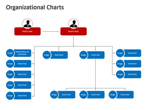 organization chart in powerpoint editable templates