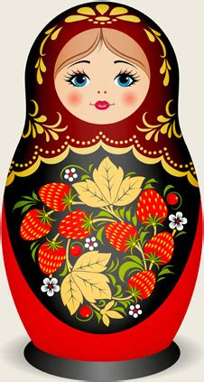 design doll download full cute russian doll design vectors free vector in