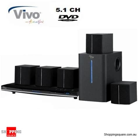 vivo 5 1 channel dvd home theatre system shopping