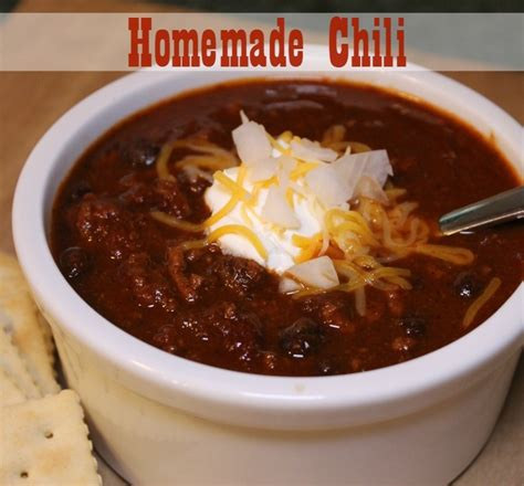 chili recipe robyns world