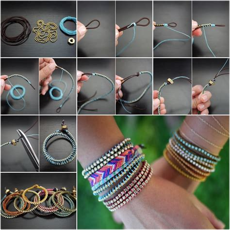d i y how to diy chic wrap bracelet fab art diy