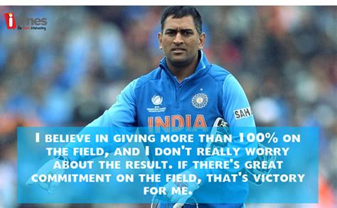 dhoni quotes like success