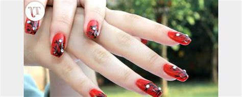Prothese Ongle Fantaisie by Se Faire Des Ongles Originaux Deco Ongle Fr