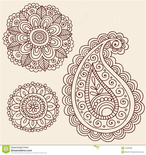 henna mandala tattoo lotus and paisley crafty and cool