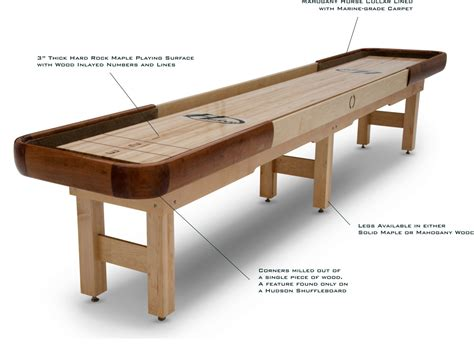 Shuffleboard Table Dimensions by Shuffleboard Table Dimensions
