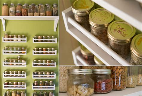 Kitchen Pantry Ideas For Small Spaces The Mega Spice Rack Healthful Pursuit