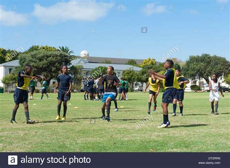 groote schuur high school football practice at groote schuur high school cape town