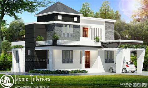 1850 square 4 bhk contemporary budget home design 1700 sq ft contemporary floor 4 bhk home designs