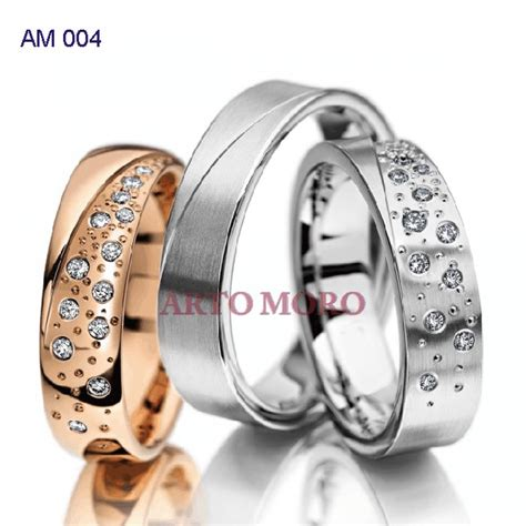 Cincin Kawin Berlian Cincin Tunangan Cincin Nikah Palladium Cr0044 cincin perak 171 cincin kawin tunangan