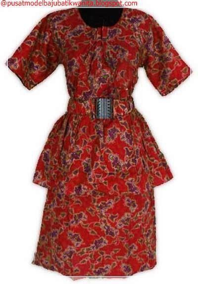 Blus Kerja Wanita Batik Dewi 2 blus batik kerjablus batik modernmodel batik blusmodel