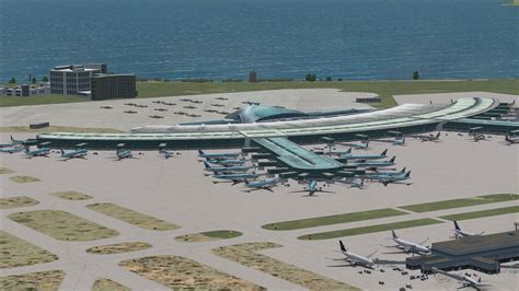 For Intl incheon international airport for fsx