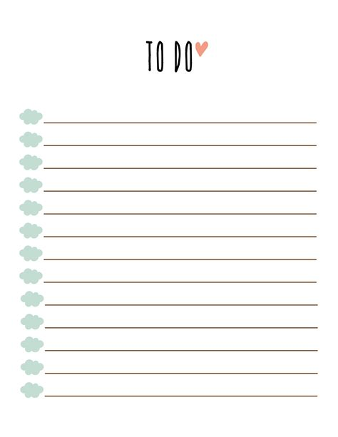 to do template free printable to do list printable free to do list