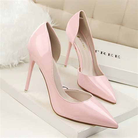 buy high heel shoes aliexpress buy new summer pumps fashion patent
