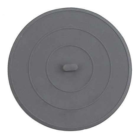 Flat Rubber Sink Stopper In White Bed Bath Beyond