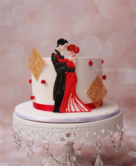 Wedding Anniversary Cake Images by 1st Anniversary Cake In Ri Cake By Prachi Dhabaldeb