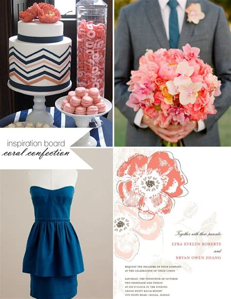 navy and coral wedding centerpieces 101 best navy and coral wedding images on