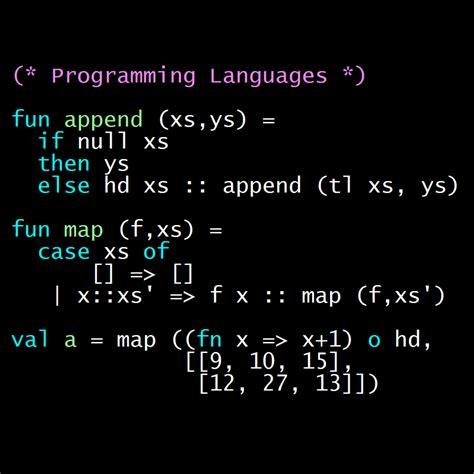 Programming Languages programming languages part a coursera