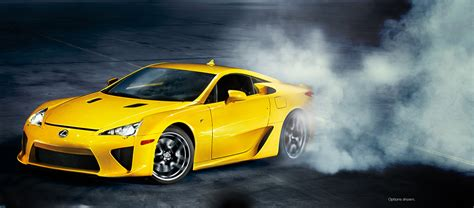 yellow lexus lfa lexus developing new lfa with help from bmw report