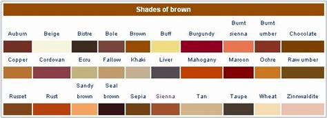 shades of brown shades of brown the craft pinterest stylists copper