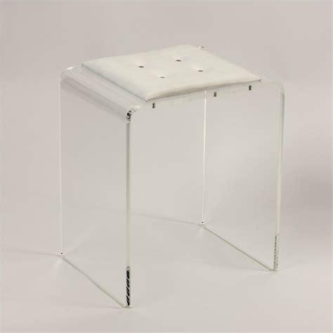 sgabello plexiglass sgabello in plexiglas trasparente othello 40x34x49cm