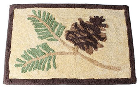 rustic bathroom rugs saturday knight pinehaven bath rug rustic bath mats