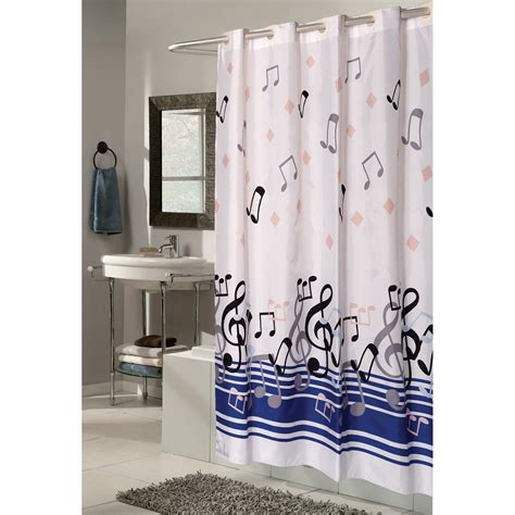 music curtains carnation home fashions ez on grommet blue note musical