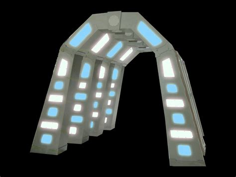 Complete Lighting Of Tampa Futuristic Tunnel Entryway Orlando Event Decor Rentals