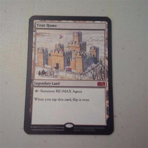 mtg best card overpowered magic the gathering business card used by