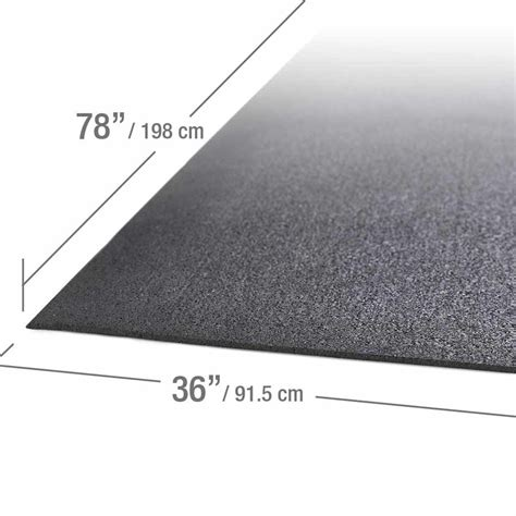 Mat Size by Exercise Equipment Mat Slip Resistant Mat Lifespan Fitness