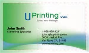 how make business card make your own business cards uprinting