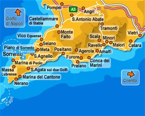 della cania pozzuoli costa amalfitana mappa costa amalfitana mappa bellaria