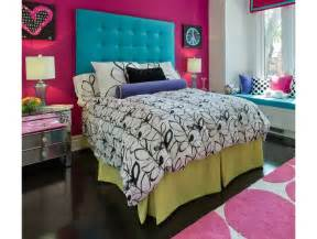 Diy teenage girls bedroom decorating ideas contrast wall with