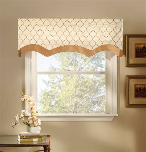 Bleecker layered lined valance curtain curtain amp bath outlet