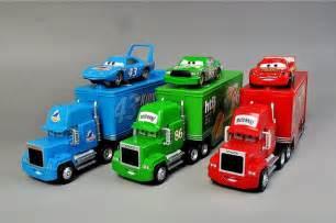 Lightning Mcqueen Truck Disney Pixar Cars Set Of 3 86htb 43 King Lightning Mcqueen