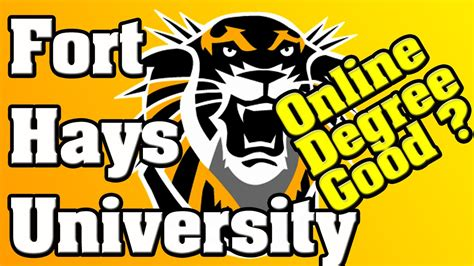 Fort Hays State Mba by Is Degree From Fort Hays State Worth