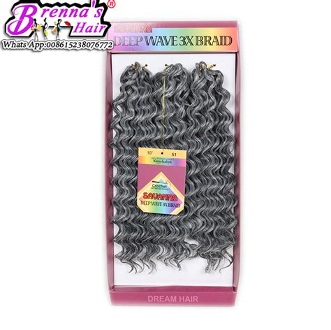 10inch deep wave synthetic braided style 10inch freetress water wave freetress hair reviews online shopping freetress hair