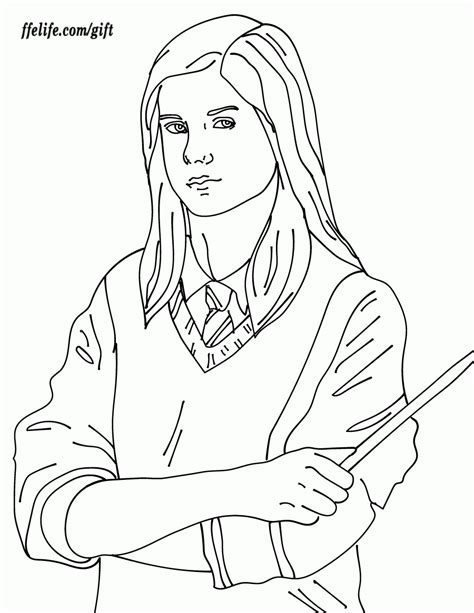 Ginny Weasley Coloring Pages harry potter coloring pages ginny coloring home