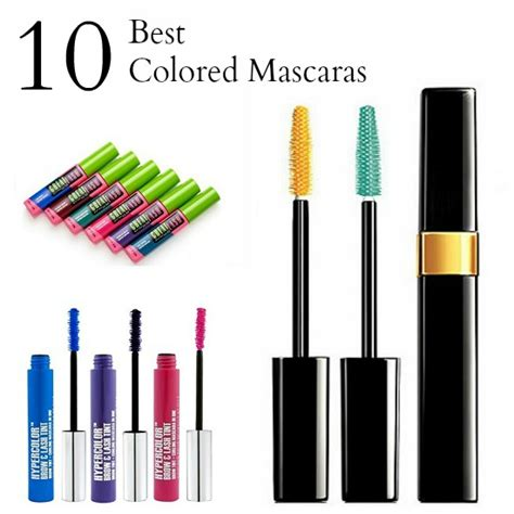 8 Eyecatching Coloured Mascaras by 10 Colored Mascaras To Make Your Pop Babble