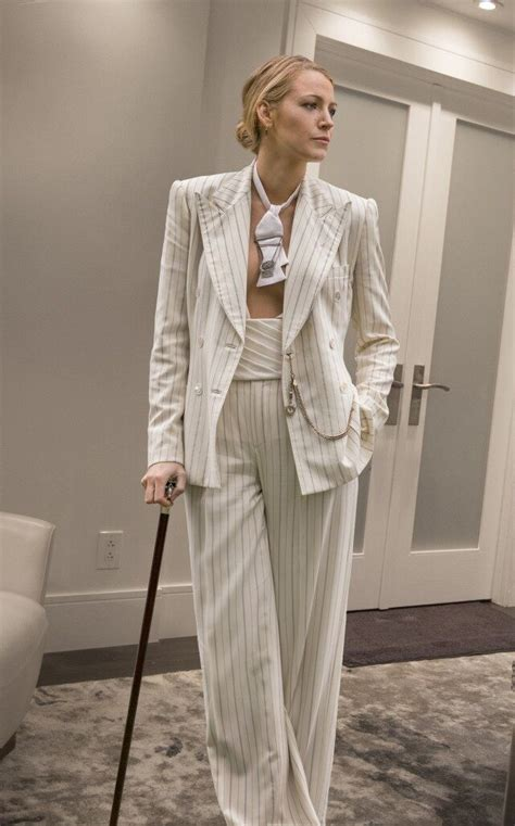 See the Stunning Designer Suits Blake Lively Wears in 'A