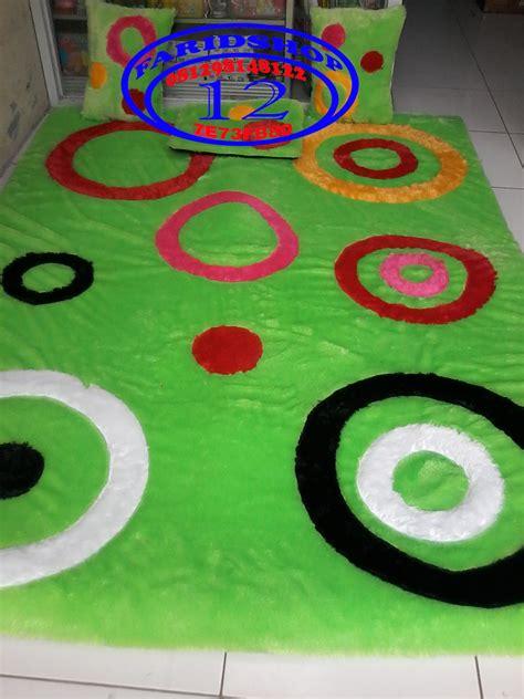 Karpet Bulu Motif Bola jual karpet motif minimalis karpet bulu rasfur matras